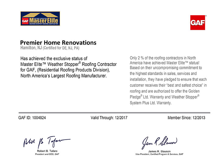 Premier Home Renovations Was Also Presented With An Angieu0027s List Super  Service Award For Our Excellence In Roofing.